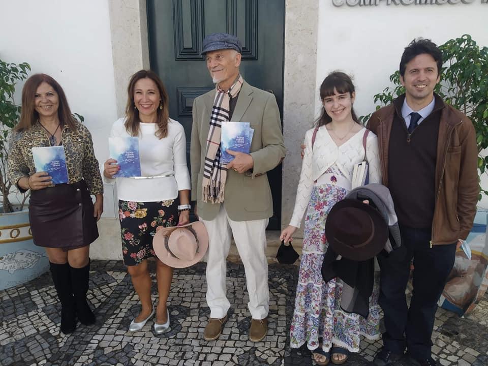 Udział w VI Międzynarodowym Festiwalu Poetyckim w Olhão 25.10.2020