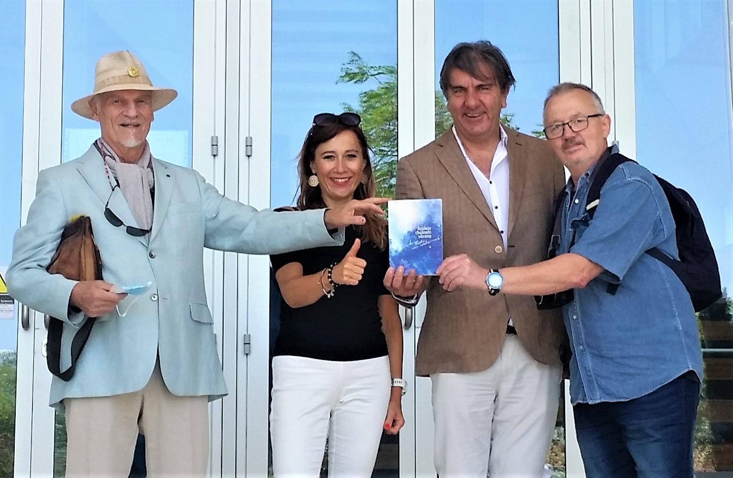 """Apresentação """"Azulejo vestido com centaureas"""" em Templum da Poesia, Lisboa"""